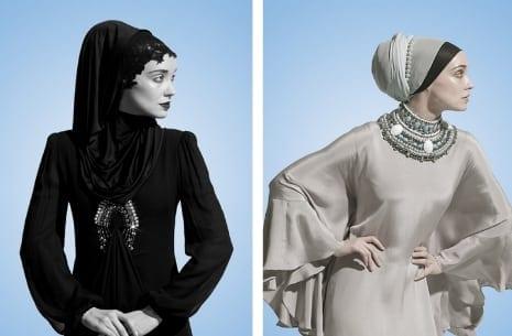 2013 Tesettür Gece Kıyafetleri