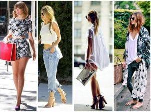 2018 Sokak Stilinde Trend Çantalar
