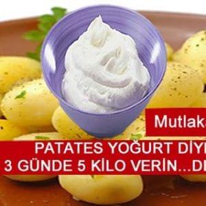 Patates Diyeti Ve Patates Kürü